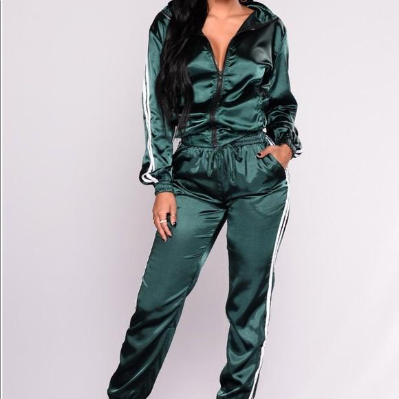 46c21e80696 Fashion Nova Pants - ✨New Olive green jumpsuit